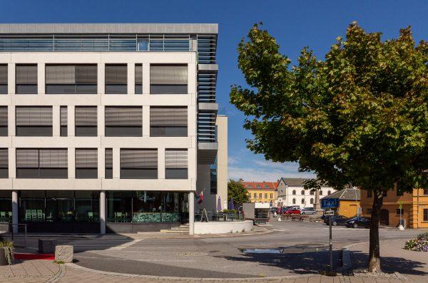 bilde av eksteriør av Kynningsrud kontorbygg